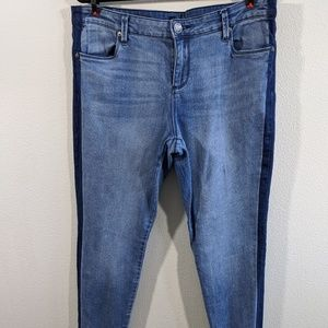 Kut From The Kloth Jennifer Ultra Skinny Jeans 16